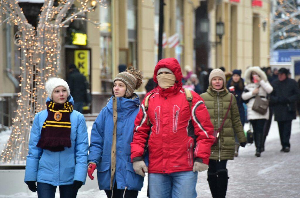 Сильный мороз придет в столицу на следующей неделе