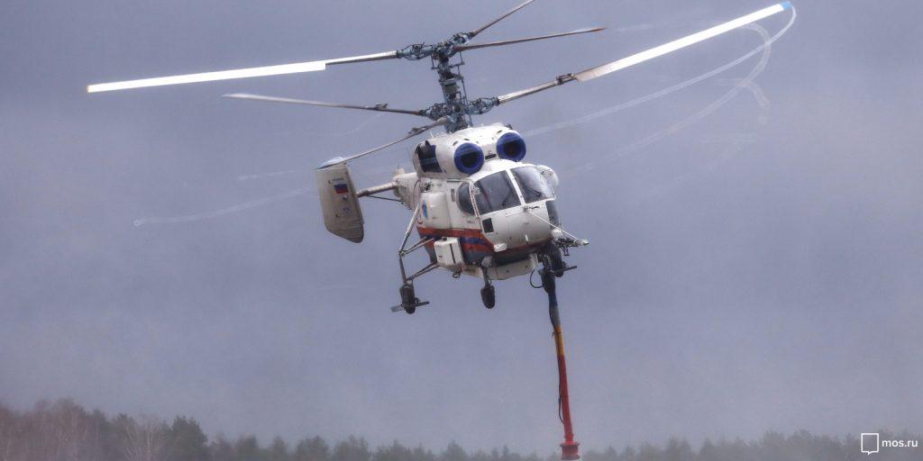 Вертолетчики МАЦ отмечают профессиональный праздник