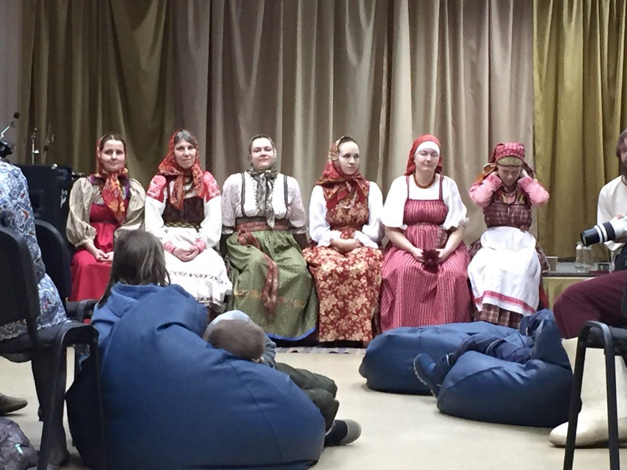 Фольклорная северная Русь