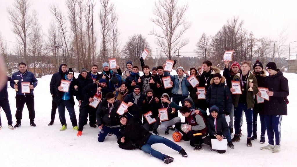 Футбольный матч провели во Внуковском