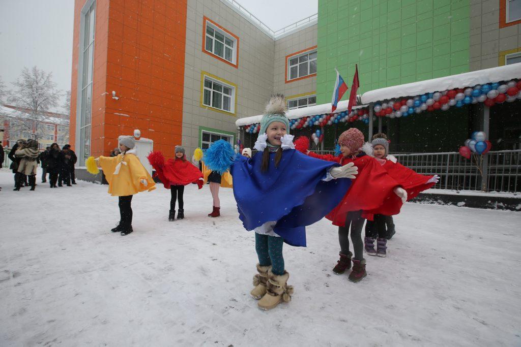 31 января 2018 года. Щапово. Открытие нового детского сада на 225 мест. Фото: Владимир Смоляков