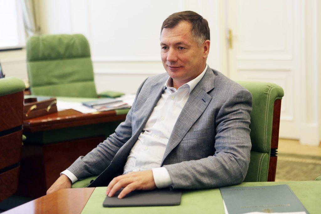 Заместитель мэра Москвы по вопросам градостроительной политики и строительства Марат Хуснуллин. Фото: Анна Иванцова