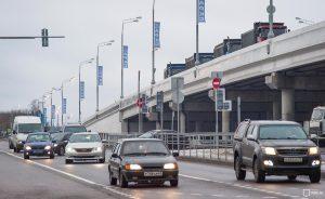 15 декабря 2017 года. Открытие движения по Калужскому шоссе. Фото: пресс-служба мэра и Правительства Москвы/ Евгений Самарин