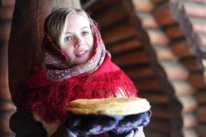 Масленичный пир организуют в парке «Зарядье»