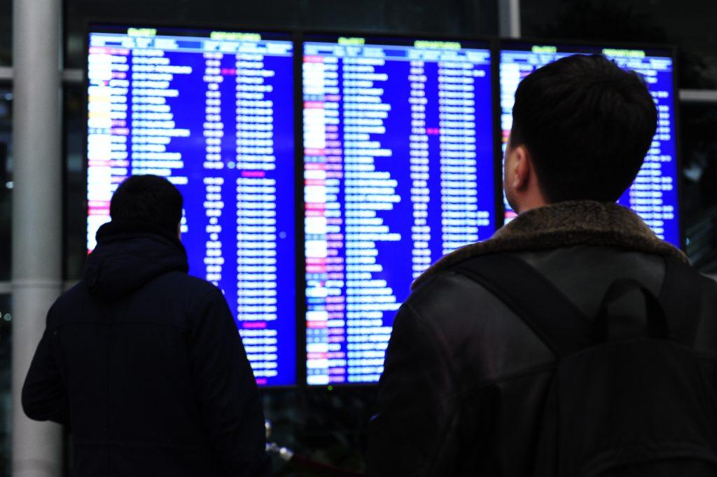 Более 30 рейсов отменено и задержано аэропортах Москвы