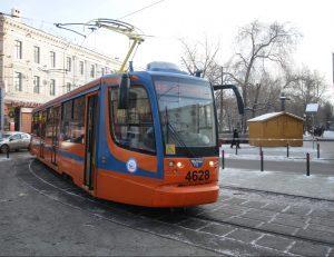 Мосгортранс поделится с пассажирами праздником. Фото: Антон Гердо, «Вечерняя Москва»