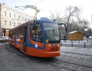 Трамвай для влюбленных запустили в Москве