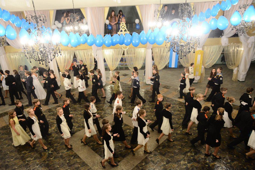 Третий кадетский бал пройдет в Москве 23 февраля