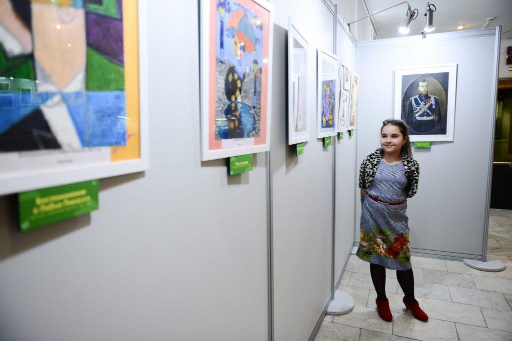 Сотрудники Дома культуры «Мосрентген» откроют выставку детских рисунков