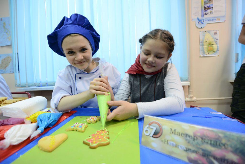 Кулинарный мастер-класс для детей состоялся в библиотеке Воскресенского