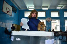 Отдать голос на выборах-2018 можно вне России.Фото: архив, «Вечерняя Москва»
