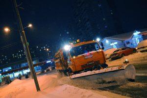 Качество уборки снега на улицах столицы контролируется онлайн