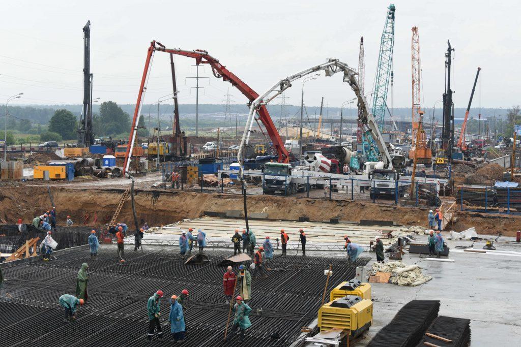 Трассу между Киевским и Калужским шоссе откроют до начала лета 2018 года
