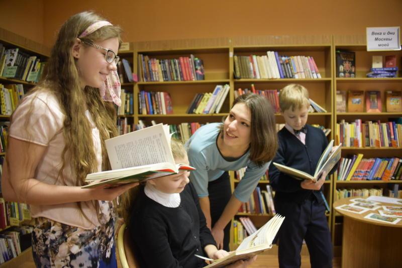Библиотеки Новой Москвы примут участие во Второй Общероссийской акции «Дарите книги с любовью»