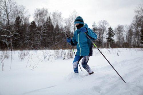 Жители Воскресенского выйдут на лыжню. Фото: архив, «Вечерняя Москва»