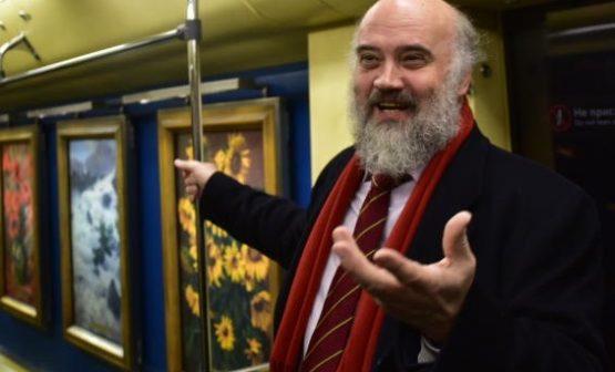 Народный художник России Сергей Андрияка. Фото: Антон Гердо, «Вечерняя Москва»