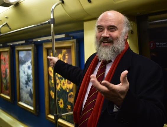 Выставка работ Сергея Андрияки откроется в Музее-заповеднике «Царицыно»