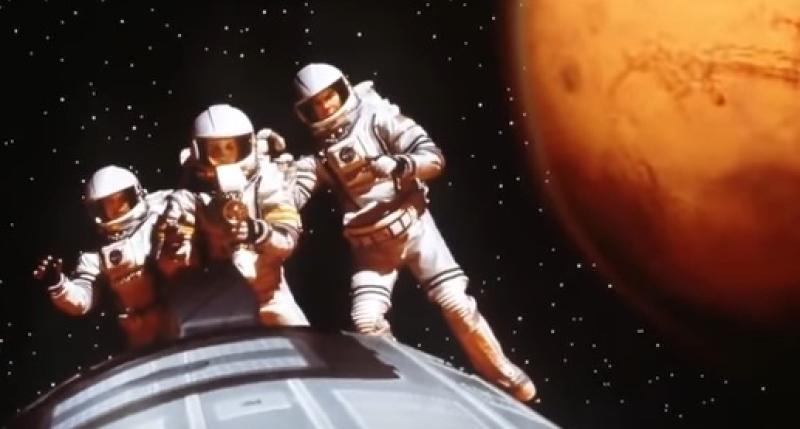 Люди высадятся на Марс через 20 лет