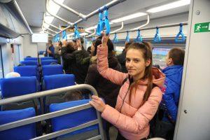 Из всех понедельников этого года вчерашний стал лидером по количеству перевезенных пассажиров. Фото: Светлана Колоскова