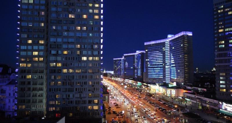 Праздничная подсветка украсит Москву в День святого Валентина