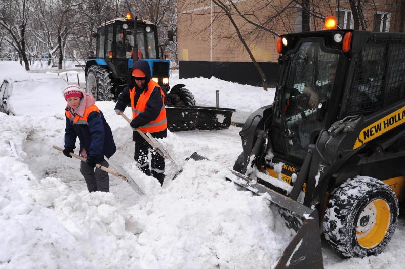 Городские службы в Москве поменяли режим работы из-за холодов
