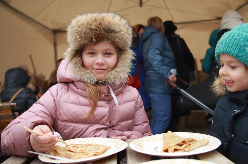 Порядка пяти миллионов человек посетили фестиваль «Московская Масленица»