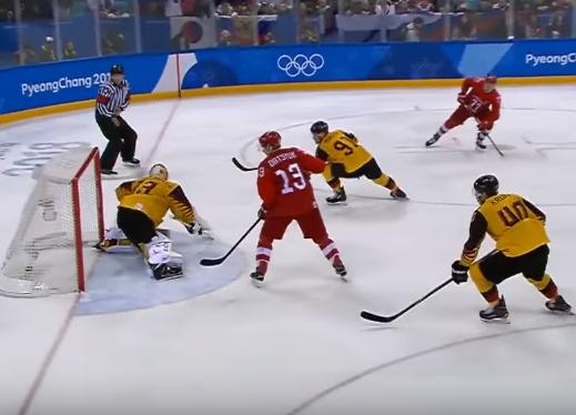 Очередное олимпийское золото принесли российские хоккеисты