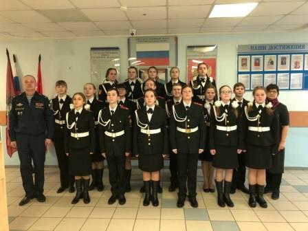 Итоги второго этапа кадетской Спартакиады подвели в Кленовском