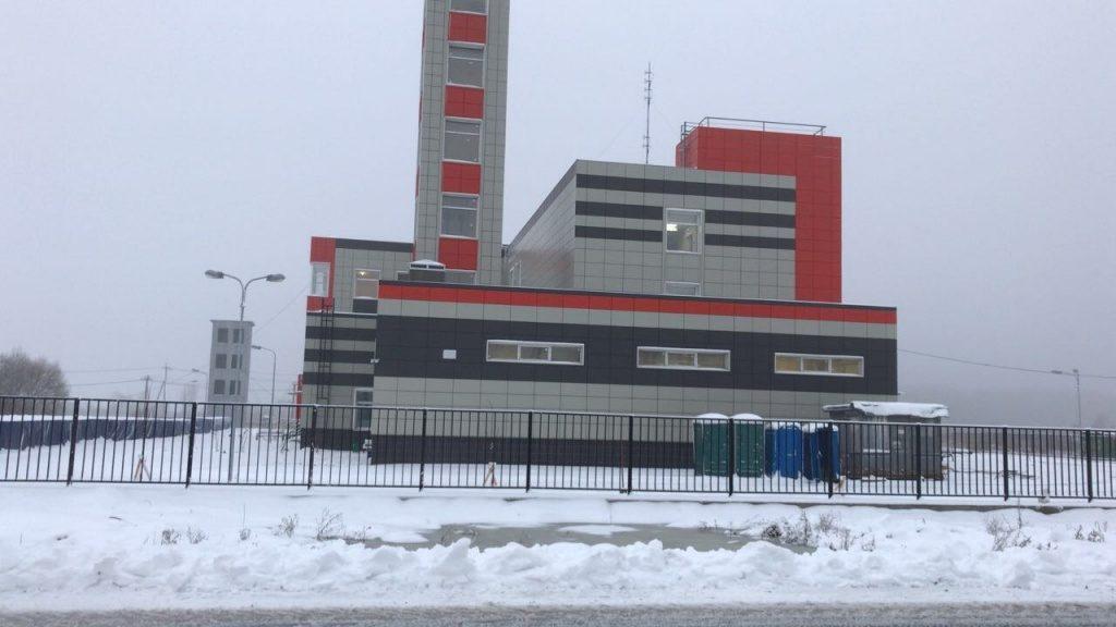 Строительство пожарного депо в Кленовском завершится в ближайшее время