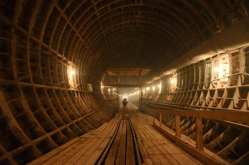 Открытие первого участка Большой кольцевой линии метро запланировали на конец февраля