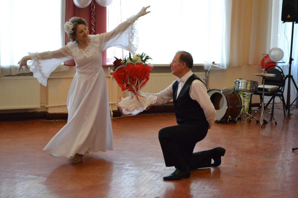 Супругов-юбиляров поздравили в Щербинке