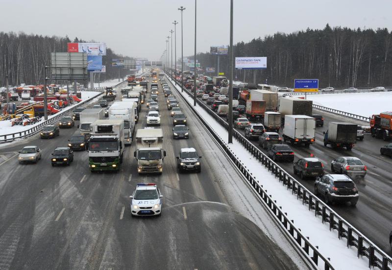 Жители Новой Москвы стали более положительно оценивать транспортную ситуацию