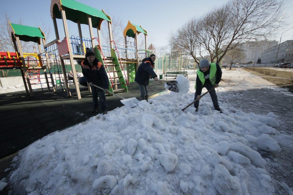Благоустройство детской площадки проведут в Сосенском. Фото: архив