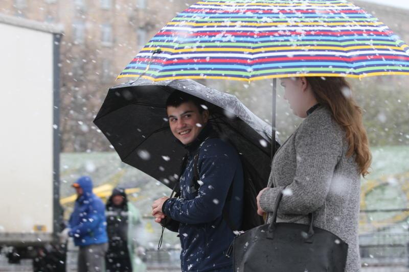 Месячная норма осадков может выпасть в Москве в выходные