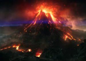 Гигантский вулкан нашли около Японии