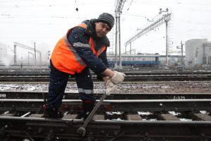 """Станцию «Остафьево» начали строить на Курском направлении железной дороги. Фото: архив. """"Вечерняя Москва"""""""