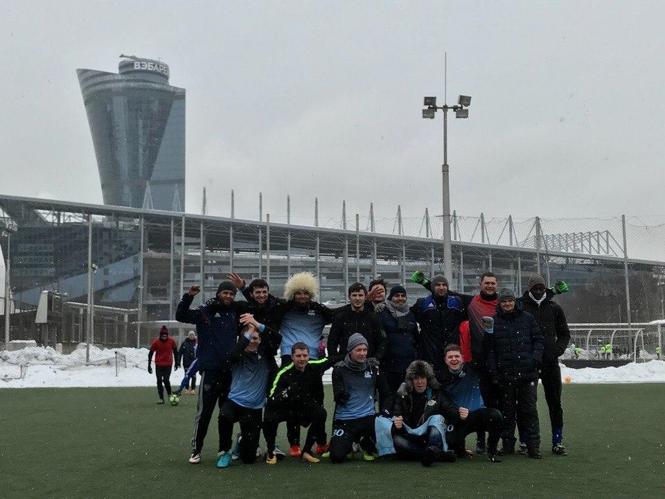 Чемпионом Открытого зимнего турнира по футболу стала команда «Барс» из Внуковского. Фото: ФК «Барс»