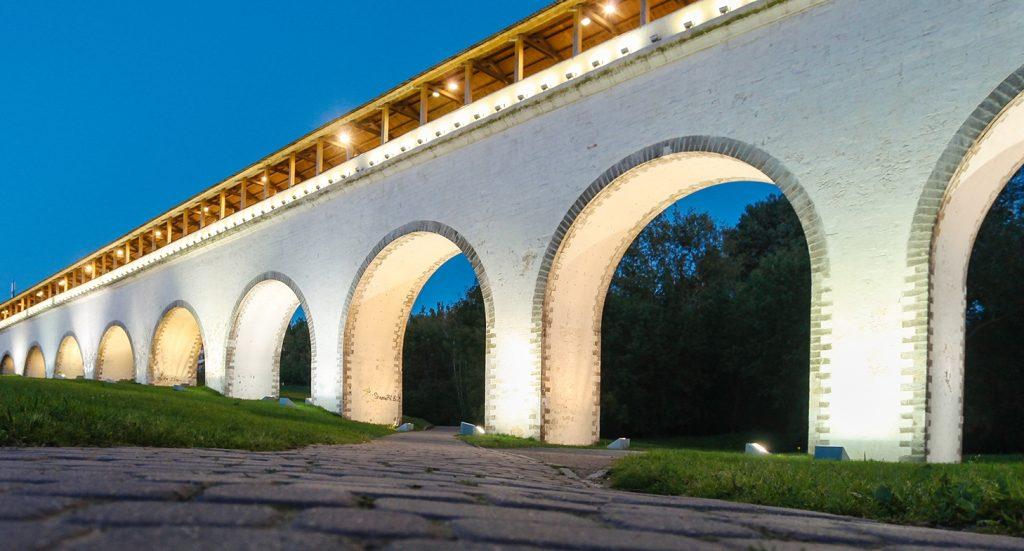 Акведук XVIII века благоустроят в Москве