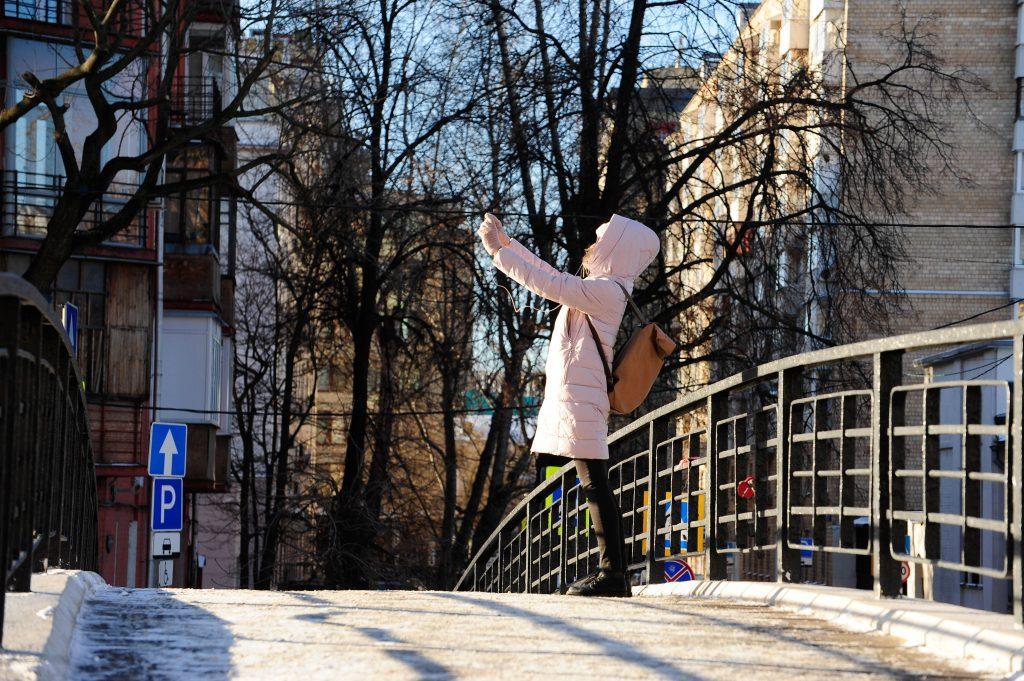 В среду Москве пообещали «мороз и солнце»