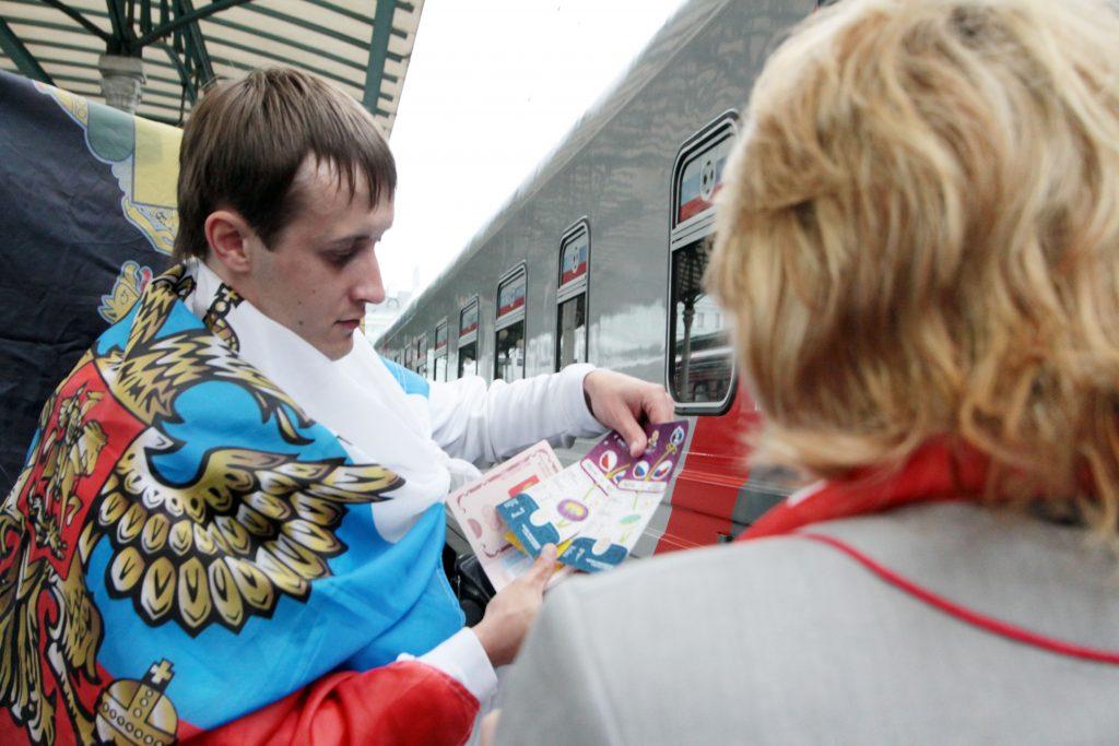 Московский транспорт бесплатно довезет болельщиков матча Россия — Бразилия