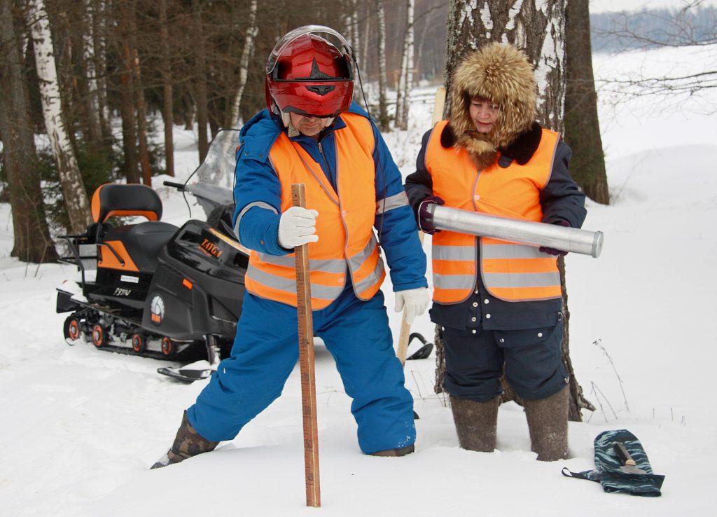 К концу апреля Москва останется без снега