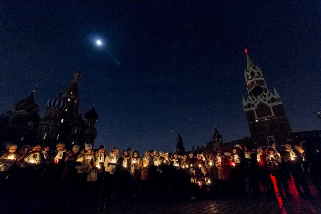 Подсветку Кремля отключат в рамках акции «Час Земли». Фото: архив, «Вечерняя Москва»