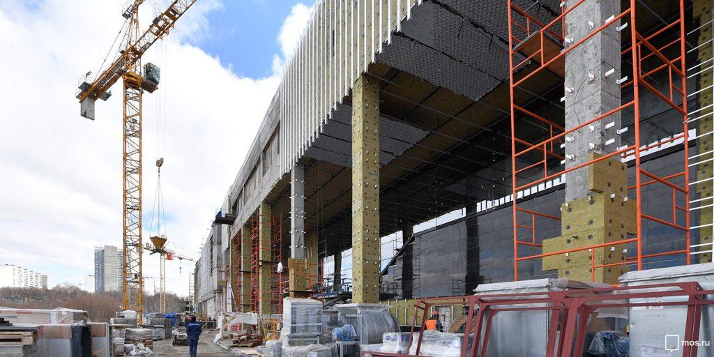 Строительство участка Сокольнической линии метро до станции Столбово завершат к концу 2018 года. Фото: mos.ru