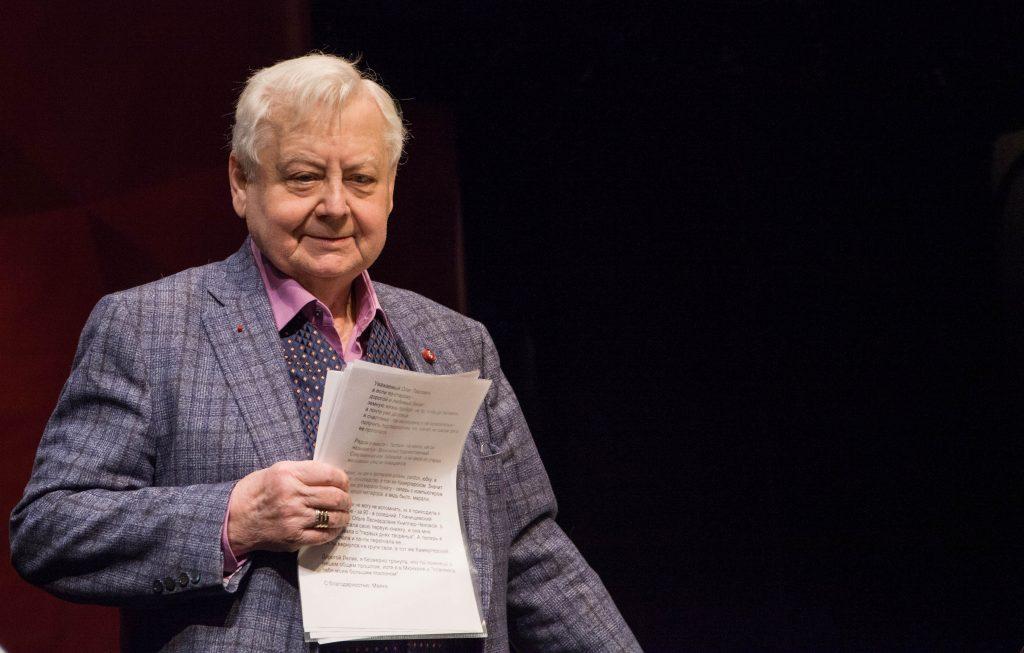 Народный артист СССР Олег Табаков ушел из жизни в Москве