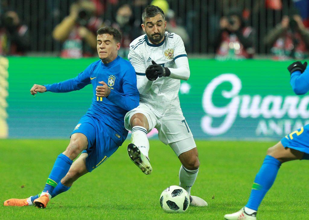 Зрители разъехались из «Лужников» после матча Россия — Бразилия за 40 минут