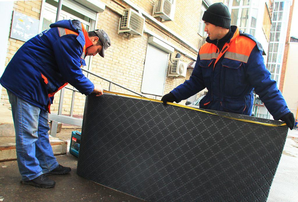 Тротуары и дворы обустроят на территории поселения Вороновское