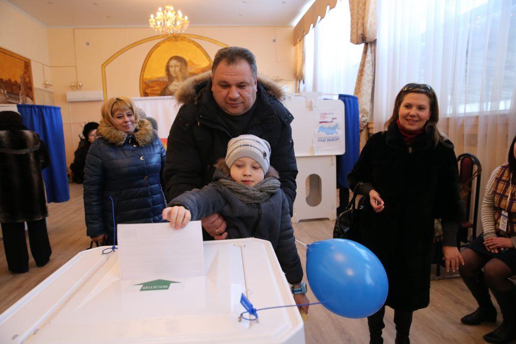 Явка на выборах в Москве на 6% выше, чем в 2012 году