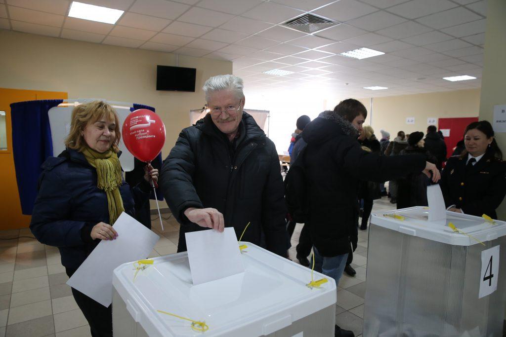 Явка на выборах президента России в Москве превысила 52%