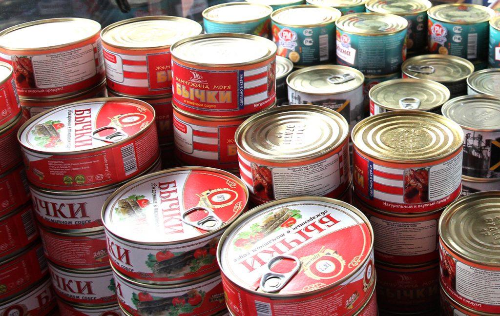 Бычки в томате из Керчи появятся на фестивале «Мос/Еда!»