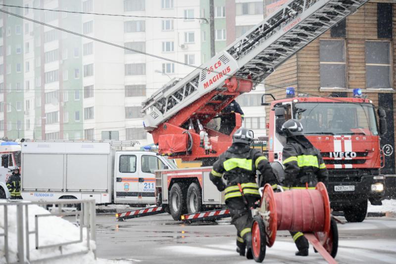 Новое пожарное депо со скалодромом возведут в Вороновском